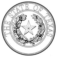 Texas State Seal - Large