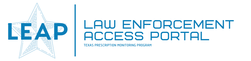 LEAP - Law Enforcement Access Portal Logo
